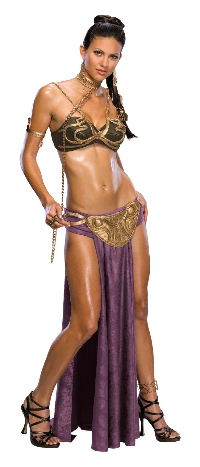 Toooooooo many already Cosplay Slave Leia at Cons for me to even consider it....but for Halloween it's a maybe.