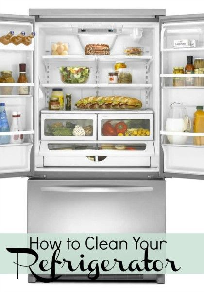 Tips to help you clean your fridge