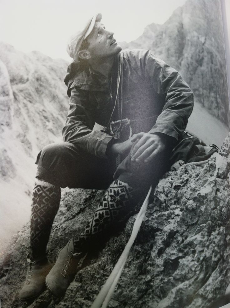 Vintage mountaineering