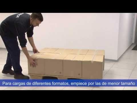 Cómo realizar una correcta paletización de la carga - Vídeo Rajapack - YouTube