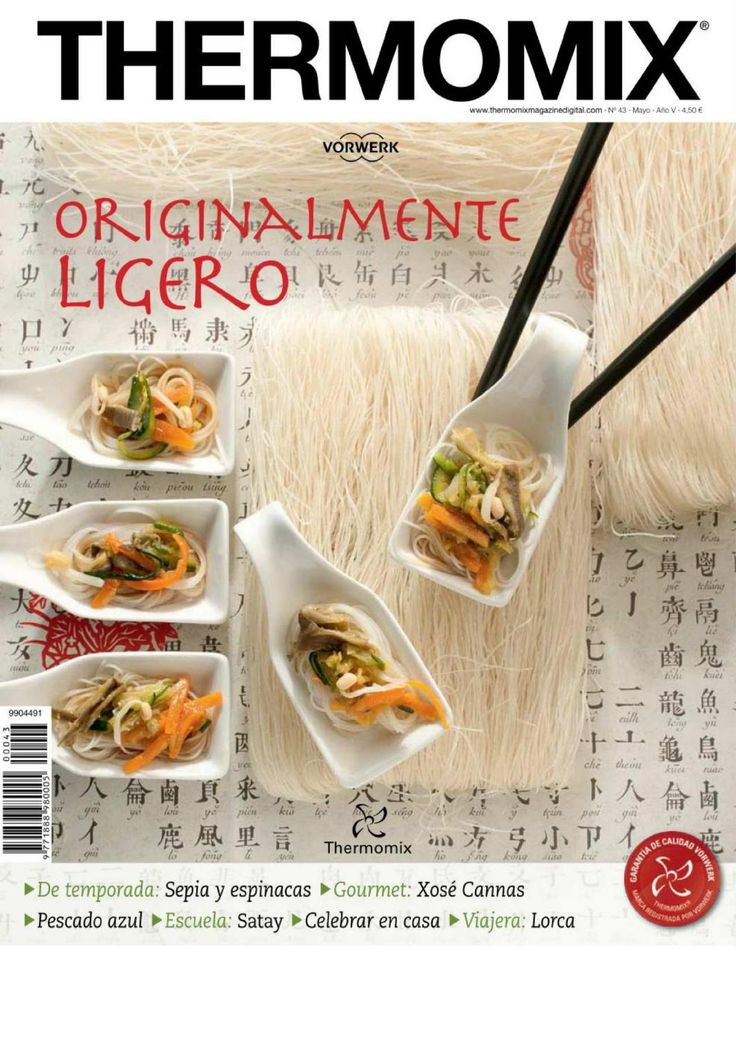 ISSUU - Revista thermomix nº43 orientalmente ligero de argent