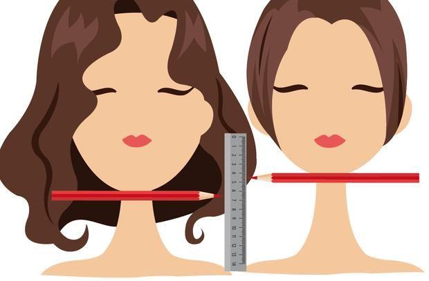 So findest du heraus, ob dir #kurze #Haare stehen! #test