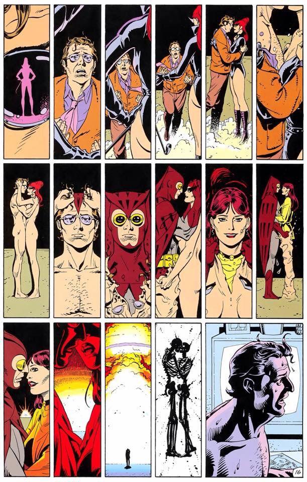 Watchmen - Silk Spectre & Nite Owl | Superhero comic, Silk ...