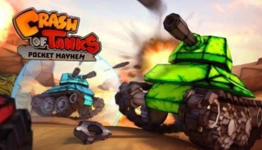 Crash of Tanks Review: Tank Warfare on Android - Android Sloth: Crash of Tanks: Pocket Mayhem mixes some mechanics from Diep.io with…