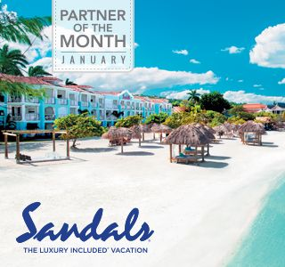 Sandals® delights couples in love with Luxury Included® vacation packages to Saint Lucia, Jamaica, Antigua, the Bahamas, Grenada and Barbados for a true romantic getaway with more quality inclusions than any other luxury beach resort. Featuring 5-Star Global Gourmet™ dining at up to 16 restaurants per resort, premium spirits, land and water sports, luxurious accommodations, gorgeous tropical settings and some of the world's most exquisite beaches. All included. All unlimited. All the time.