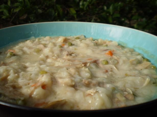 Delicious After-The-Holiday Turkey-Rice Soup