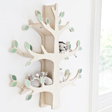 Woodland Tree Wall Shelf