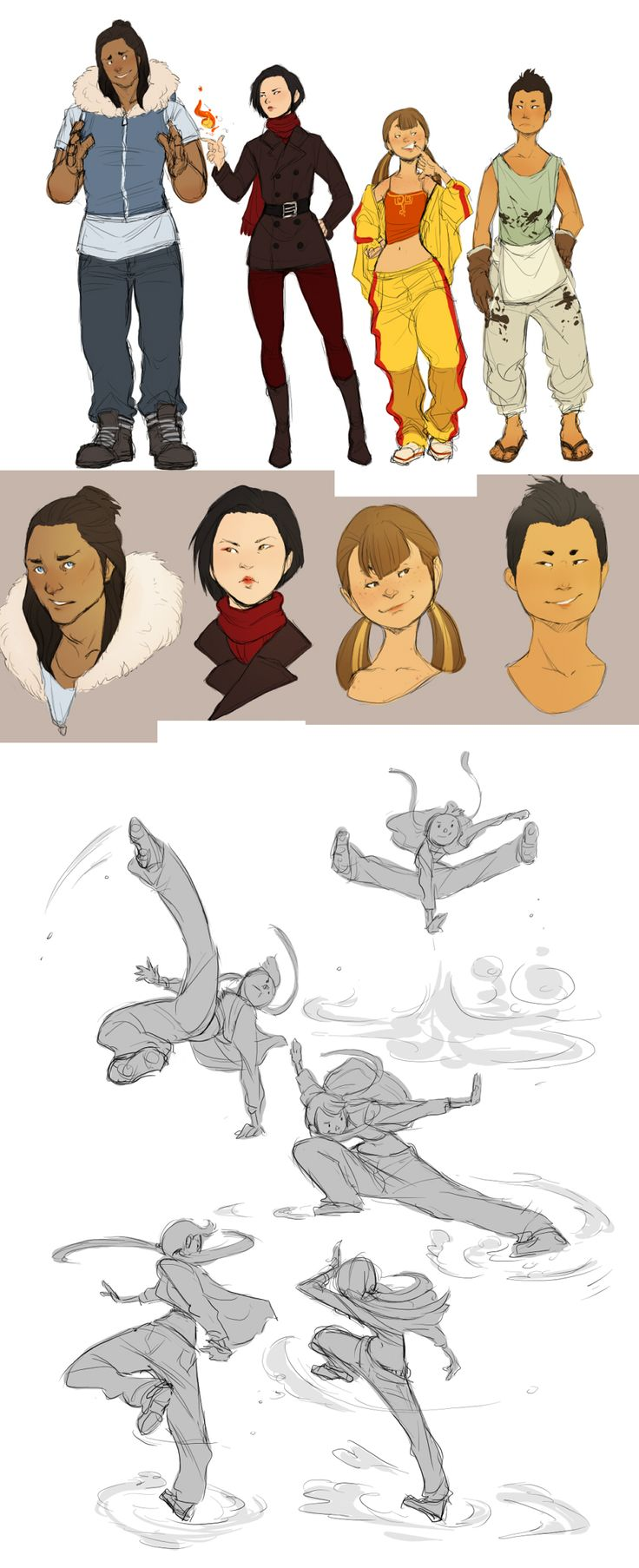 Avatar AU dump by Chopstuff.deviantart.com on @deviantART