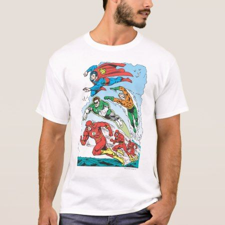 Justice League of America Group 3 T-Shirt - click to get yours right now!
