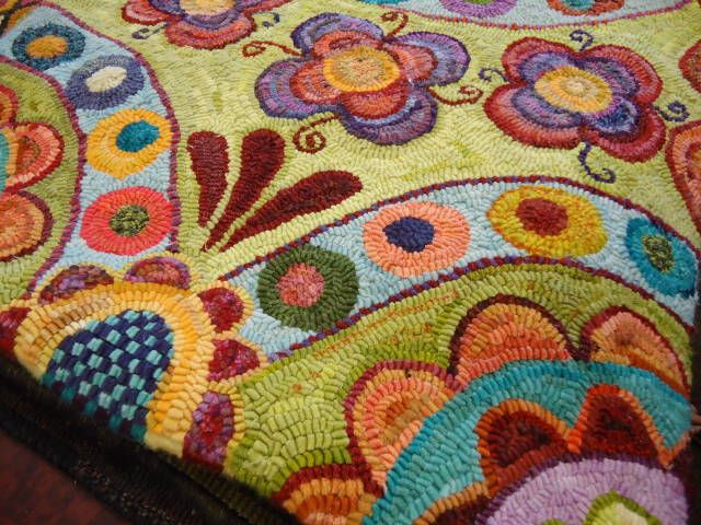 Find This Pin And More On Rug Hooking Modern By Disbrowc