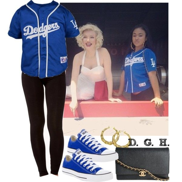 L.A. Dodgers., created by dopegenhope on Polyvore