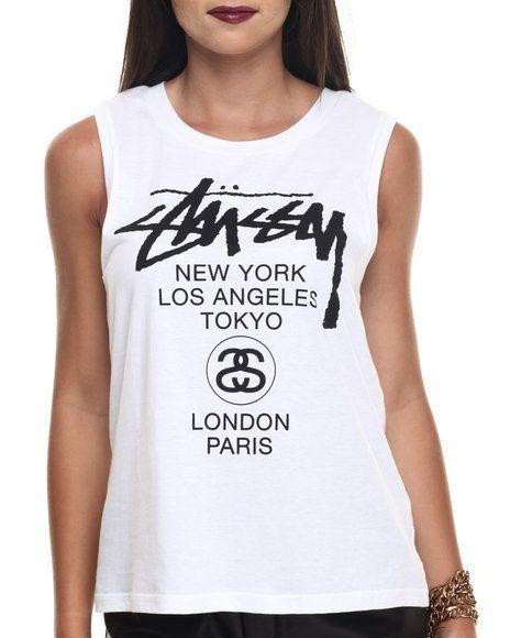 Stussy - World Tour Tank