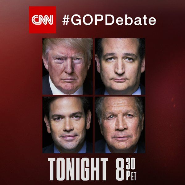 CNN GOP Debate: Trump's Incredible Opening Statement WOWS Crowd  Jim Hoft Mar 10th, 2016