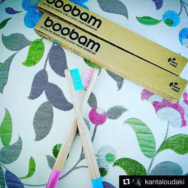 #Repost @kantaloudaki  #boobam #toothbrush #lovethem #eco #ecolife #colors #wwfgreece