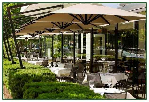 Beautiful How Is Our Recent Set Up For A Outdoor Restaurant ? #patio_sun_umbrella
