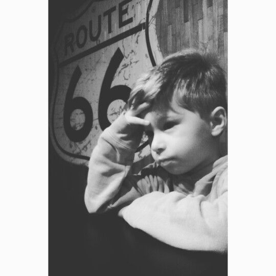 My little man.