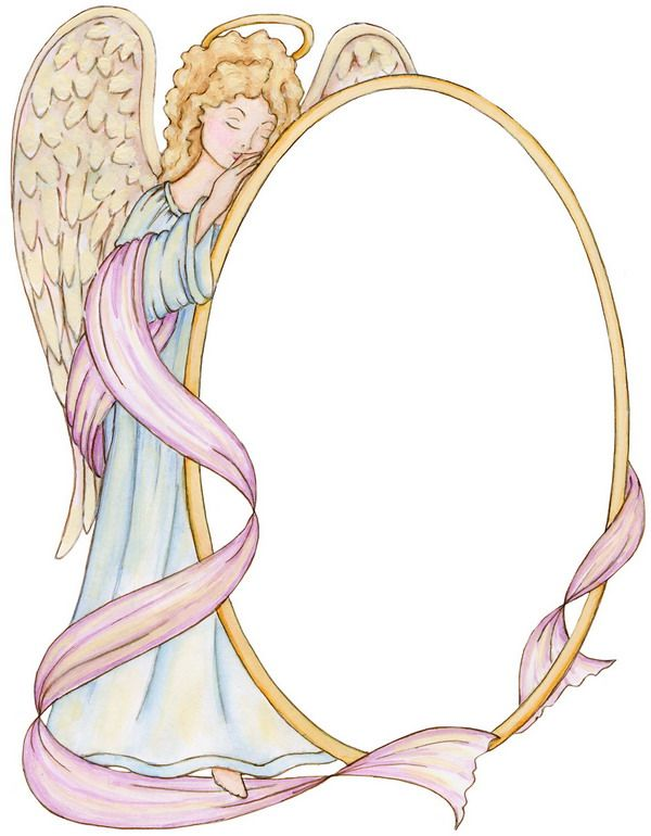 63 Best Images About Angel Frames On Pinterest Decoupage
