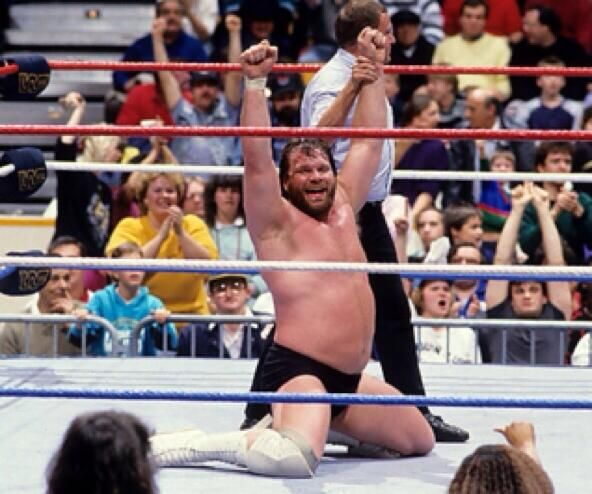 On this day in 1988 Hacksaw Jim Duggan won the first ever WWE Royal Rumble.