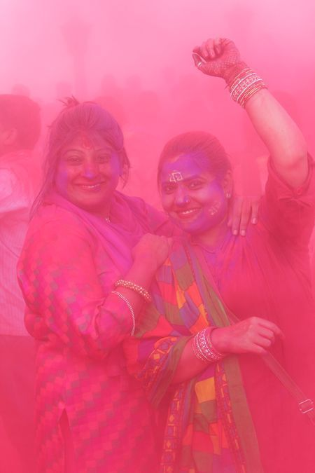 Life of colours Barsane ki holi Photo by rahul dev -- National Geographic Your Shot