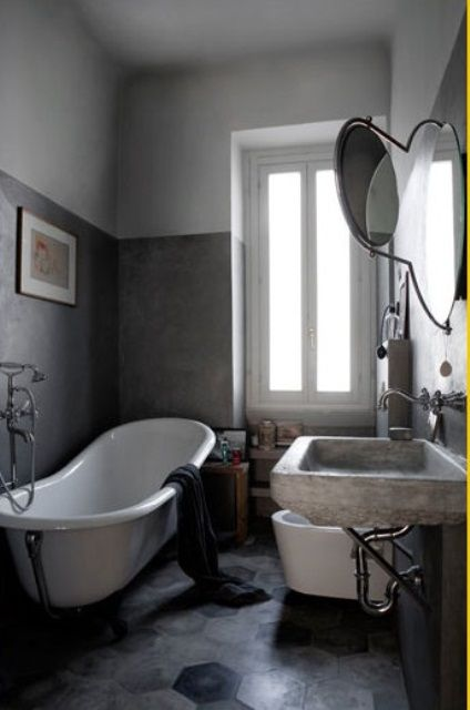 76 Stylish Truly Masculine Bathroom Décor Ideas | DigsDigs