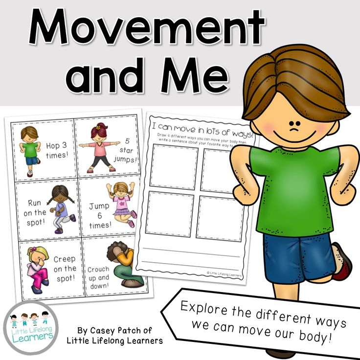 Science Packet - Movement and Me. Explore how our body can move in lots of different ways! Great for Kindergarten and Prep students. | Little Lifelong Learners