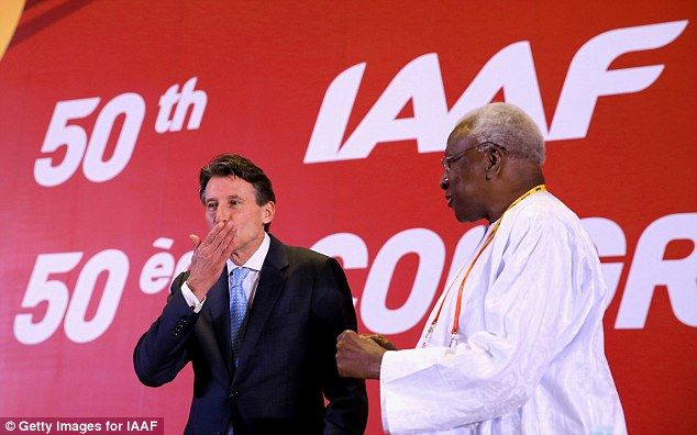 Lord Sebastian Coe bid for IAAF presidency was backed by £63,000 of public money       Lord Sebastian Coe was elected as IAAF president in August 2015     UK Sport put forward £63,000 with the rest of the funding raised privately     Coe under increasing pressure to sever his ties with sportswear giant Nike     Coe is believed to earn around £100,000 a year as a Nike ambassador