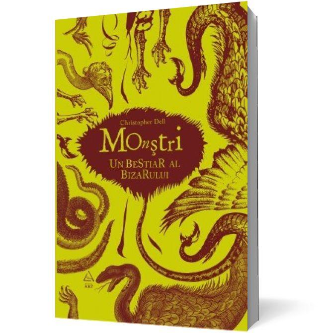 Monștri: Un Bestiar Al Bizarului este o enciclopedie mitologică ilustrată cu cele mai bizare și grotești personaje ale imaginației omului.