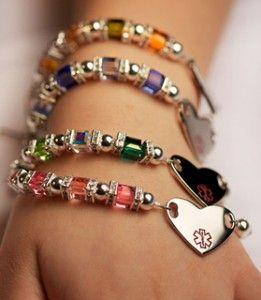 Medical Alert Bracelets Fashionable with Function