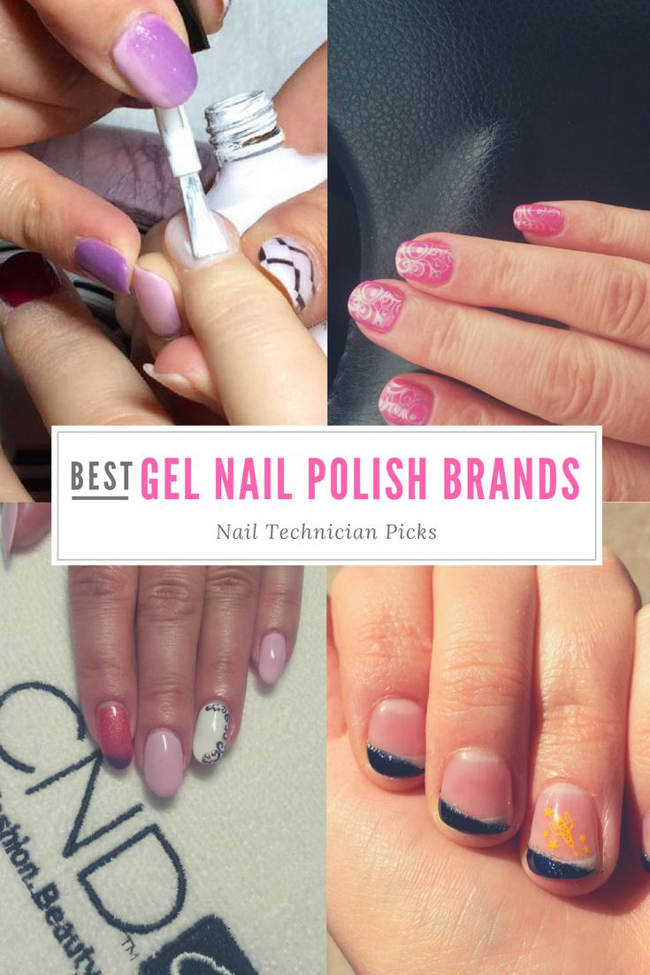 Best Gel Nail Polish Brands (Nail Technician Picks!)    Simple colors that give you an amazing look!