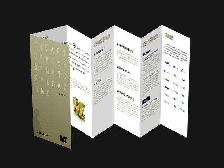 으라차차 MZ 놀이터 :: 2009 메가존 리플렛 제작