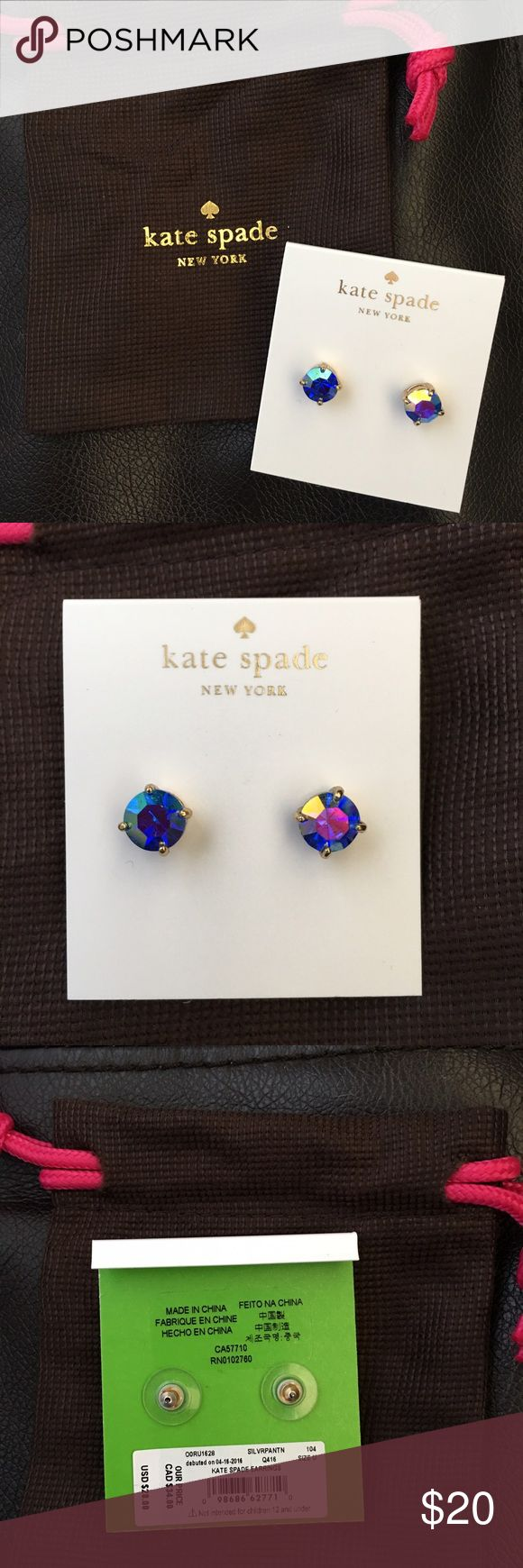 🎉 ONE DAY SALE Kate Spade Earrings Super Cute Kate Spade Earrings kate spade Jewelry Earrings