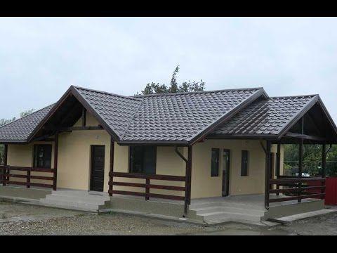 Proiecte case lemn la cheie -  constructia casei de la Biliesti, Jud  Vr...