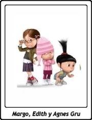 Margo, Edith & Agnes Gru / Hermanas Gru / Gru, mi villano favorito / Despicable Me / Los Minions / The Minions / Illumination / Pierre Coffin / Chris Renaud