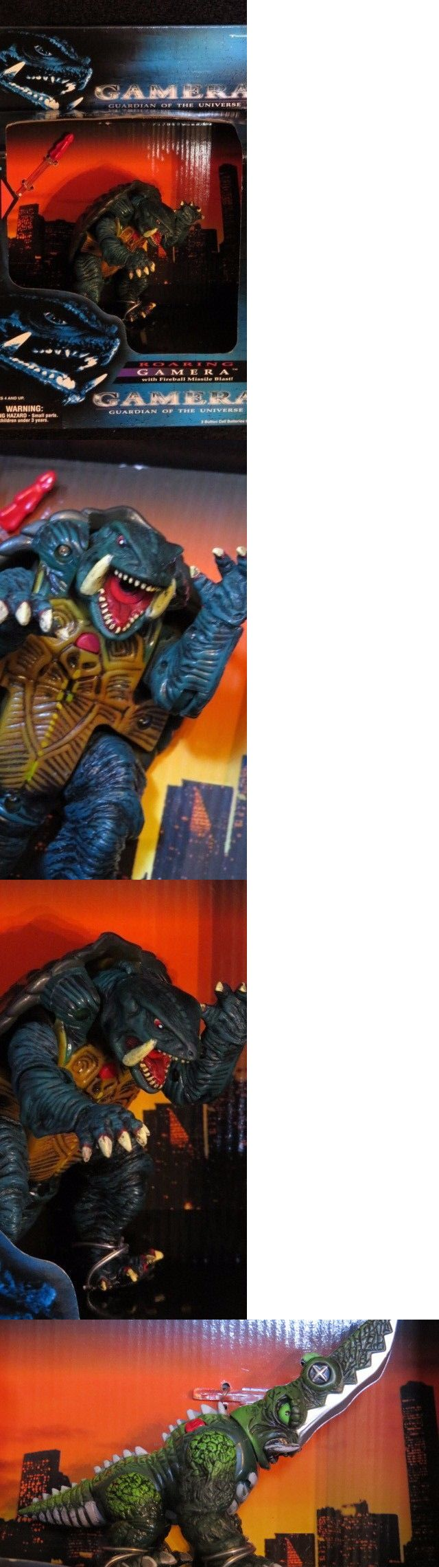 Godzilla 747: Gamera 1995 Monster (Full 6 Set) Guardian Of The Universe New -> BUY IT NOW ONLY: $150 on eBay!