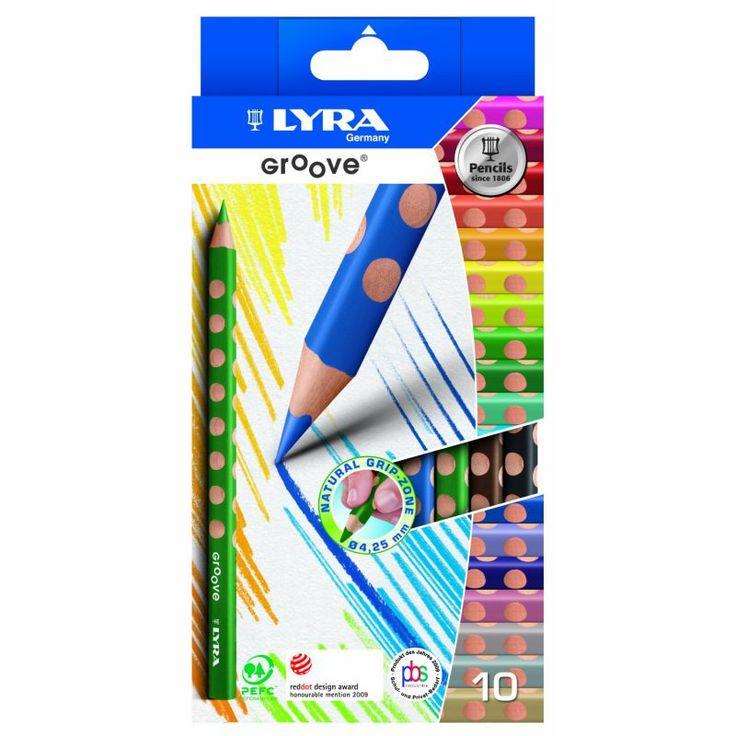 Lyra-Groove-Stifte für perfekte Stifthaltung in Kinderhänden