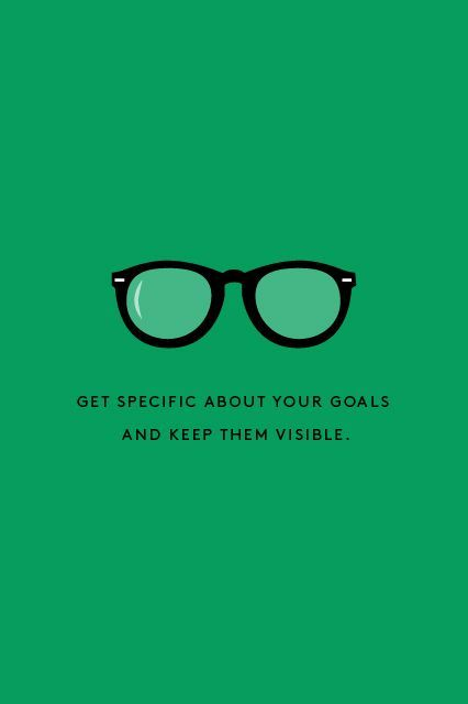 how to show your career goals