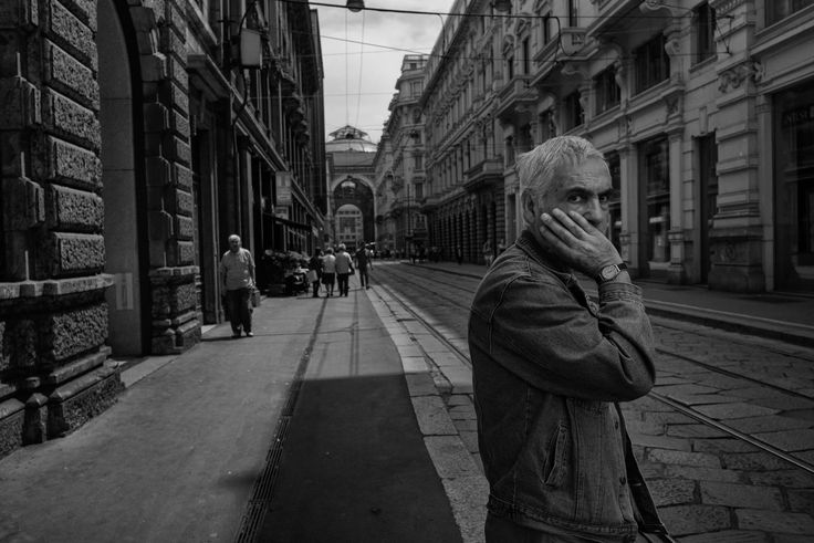 Milan 2014 black and white street photography italy