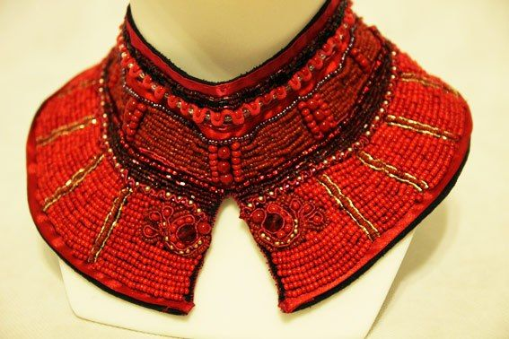 Handmade necklace. https://www.facebook.com/AndronyDizajn #etnodesign #necklace