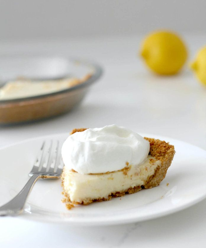 Old-fashioned Lemon Icebox Pie is creamy and zesty, with fresh lemon juice and zest and Eagle Brand condensed milk--it's a classic Southern staple!