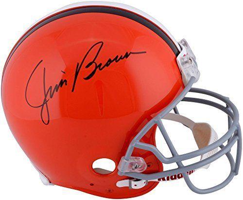 Jim Brown Cleveland Browns Autographed Pro-Line Riddell Authentic Helmet - Fanatics Authentic Certified