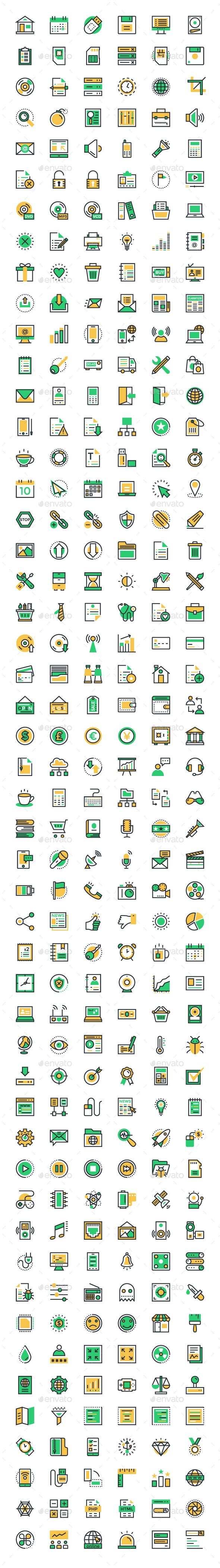 300 User Interface and Web Icons. Download here: http://graphicriver.net/item/300-user-interface-and-web-icons/14840175?ref=ksioks