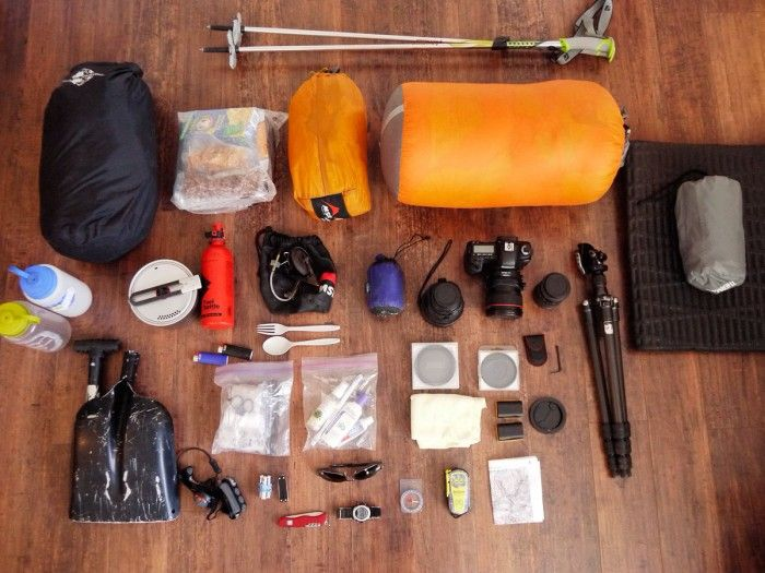 AWESOME post with detailed description of all summer/winter backpacking gear.