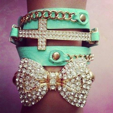 blinged out bow
