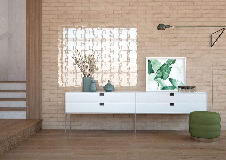 "Alchimia Vision 3""x12"" wall tile"