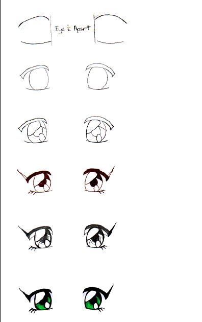 Ms de 25 ideas increbles sobre Como dibujar ojos anime en