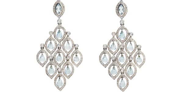 THE ALIA BLUE TOPAZ EARRINGS BY VICTORIA TRYON