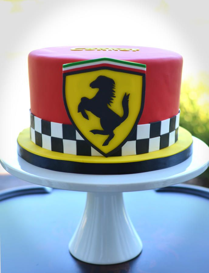 Ferrari Cake - Cake by Elisabeth Palatiello