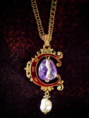 The Banér jewel, given by Christina Sture to her husband-to-be Gustav Banér 1581. Before being beheaded 1600 at the Linköping bloodbath, he gave it to his daughter.