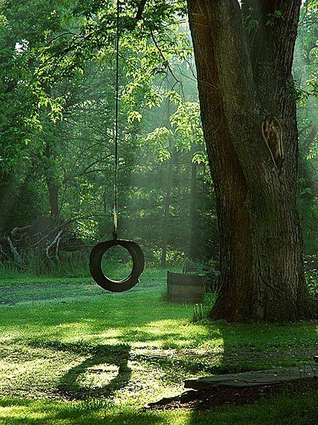Old Tire Swing