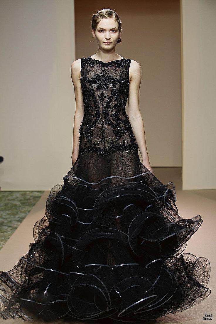 Dany Atrache 2011/2012: Designer Dresses, Couture Designer Clothes, Fashion Dresses, Black Dresses, High Fashion, Designers Dresses, Haute Couture